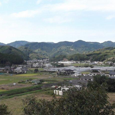 Shirafuji Falls near Fujieda