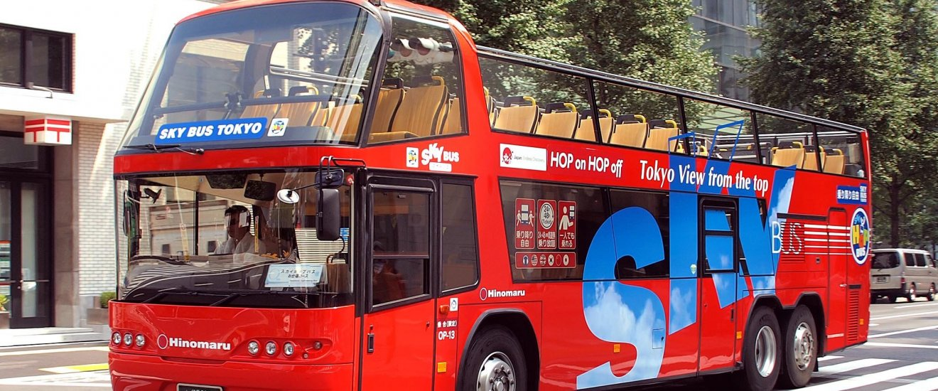 Tokyo Sky Bus takes you above the crowds