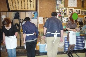 Dancing on udon