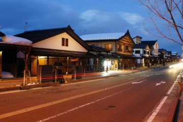 Bokushi Street in Shiozawa