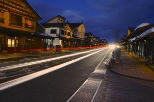 Đường ánh sáng tại Phố Bokushi