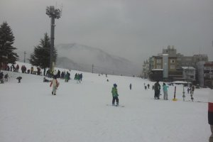 Wide open runs with plenty of slope-side accommodation.