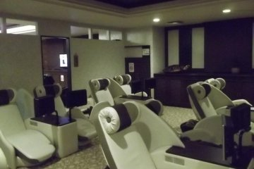 <p>And, the TV chairs</p>