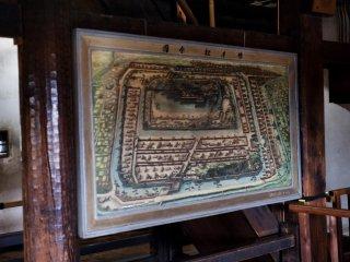 Peta kastil dan sekitarnya