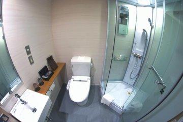 Agora Place bathroom
