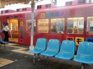 รถไฟแอนทีคที่นำมาปรับเปลี่ยนรูปโฉมใหม่