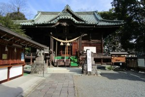 The famous Kiryu Tenmangu shrine