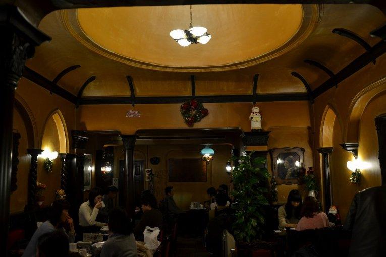 京都 カフェ「フランソア喫茶室」
