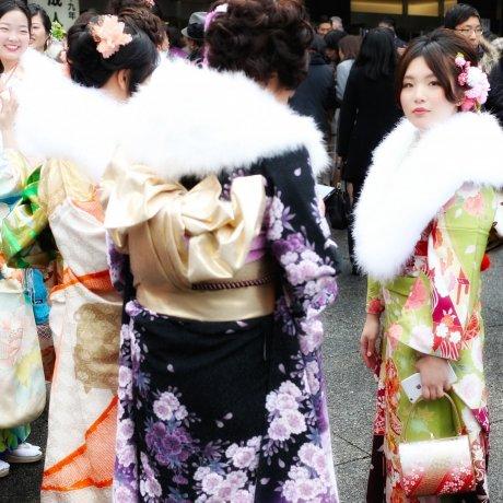 Ngày trưởng thành ở Meiji Jingu