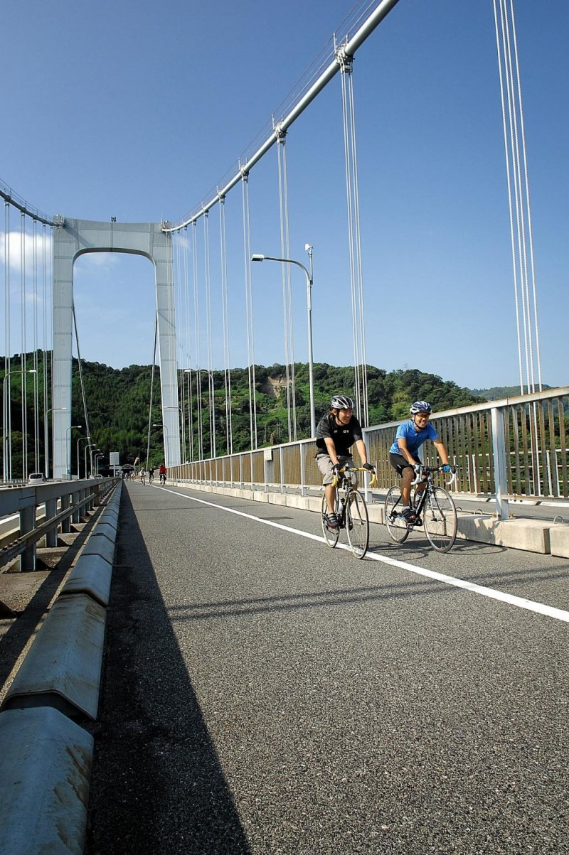 Gentle cycling on the Shimanami Kaido