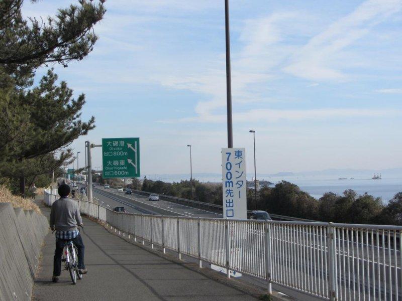 Oiso's Pacific Coastal Bike Trail - Chigasaki, Kanagawa