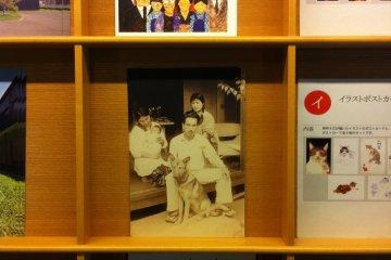 Postcard of Mansaku Juzo, Itami's father