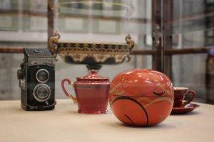 Some of Kasho's elegant belongings