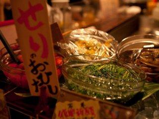 Makanan di konter