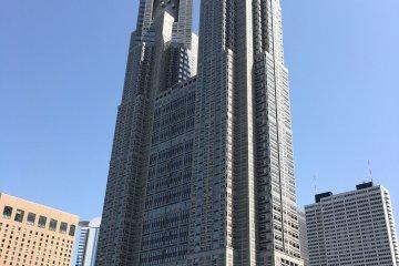 聳入天際的東京都廳舍大樓