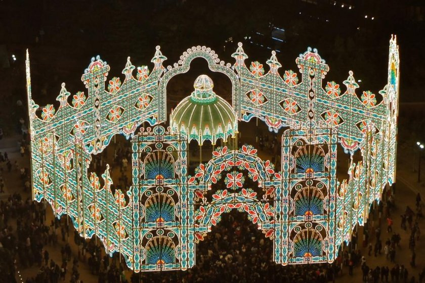 Kobe Luminarie from Kobe municipal building