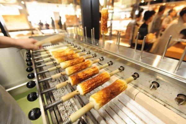 Grilling Chikuwa