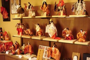 Noh dolls at the Kurokawa Noh Museum