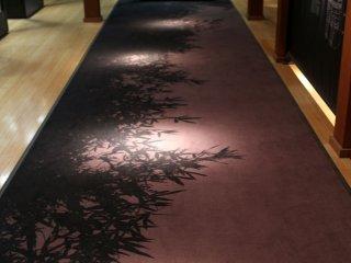 The entrance to the samurai spirits gallery