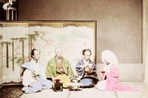 Yamamoto, Wedding ceremony, 1870