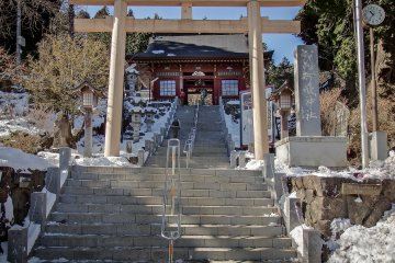 Okutama's Mitake Shrine