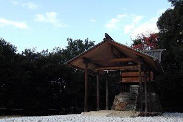 Goto'o Shrine on Naoshima, designed by Hiroshi Sugimoto