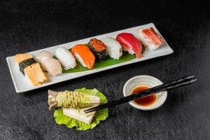 Sushi dinner!