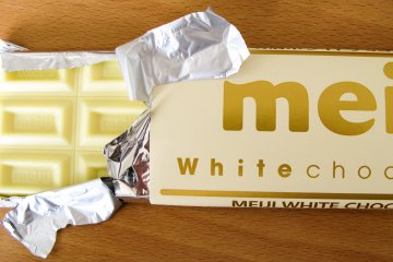 Meiji White Chocolate