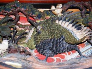 名彫刻師は動物が好きだったようだ。彼の作品にはよく動物が出てくる