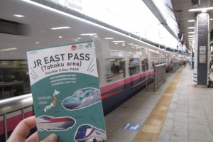One of Japan's numerous rail passes
