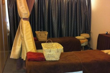 Two kinds of pamper rooms