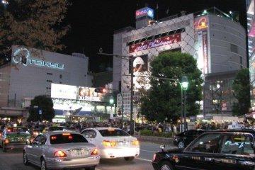 Tokyu Department Store and Shibuya Station
