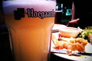 Hoegaarden is on tap from December to May at Man in the Moon opposite New Miyako Hotel, just west of the Hachijoguchi Exit of JR Kyoto Station Southern Side