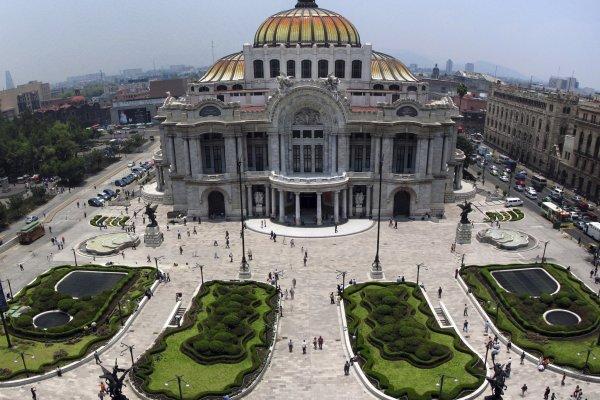 El Palacio de Bellas Artes in Mexico City