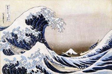 <p>Hokusai&#39;s &#39;Great Wave&#39;</p>