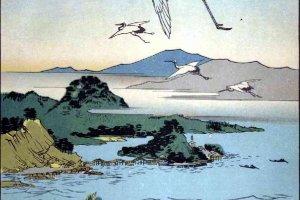 'Wakanoura' by Hiroshige