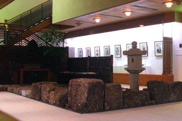 <p>The restful inner garden on the first floor</p>