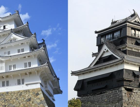 姬路城與熊本城