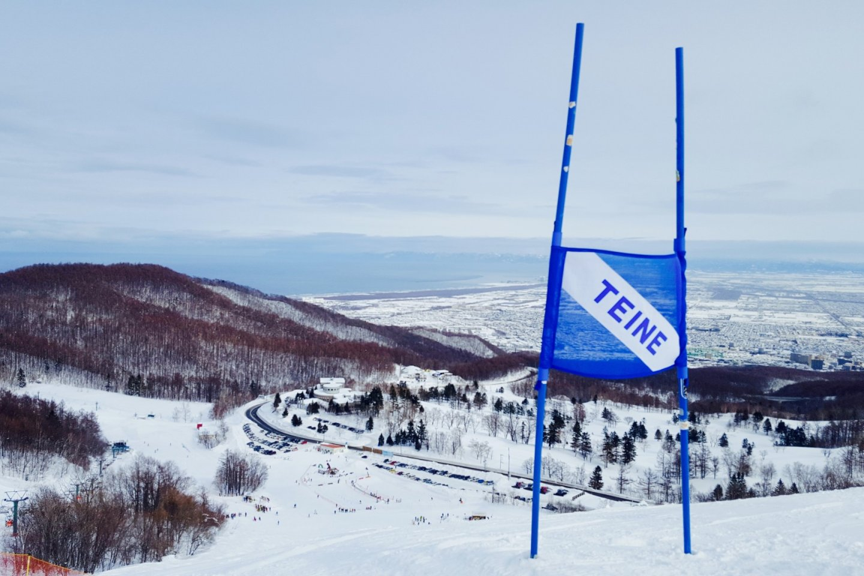 Khung cảnh của Sapporo và vịnh Ishikari từ Sapporo Teine