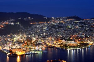 Vue sur Nagasaki depuis le Mt. Inasa
