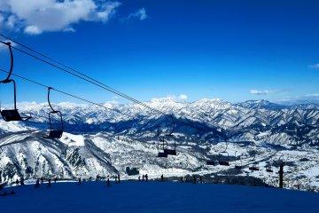 Счастье это: сноуборд и вот такой вид