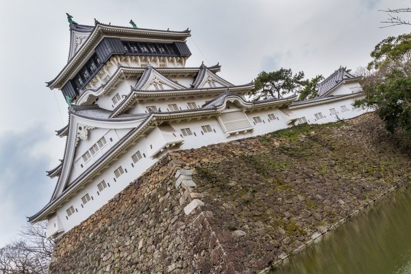Kokura Castle\'s tenshukaku, or main keep