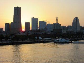 Yokohama's silhouette