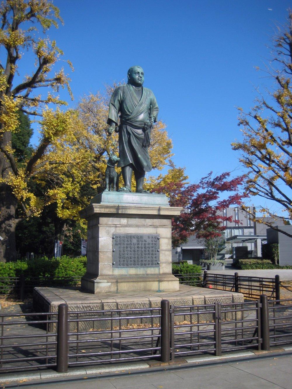 Памятник Такамори Сайго