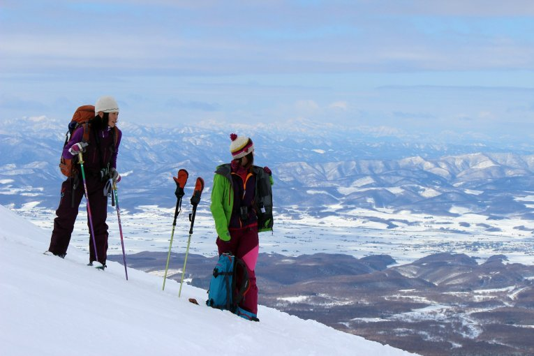 Women's Skimo Project au Japon