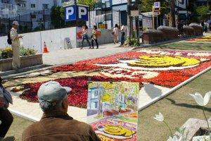 Sketch of the Infiorata at Kitanozaka