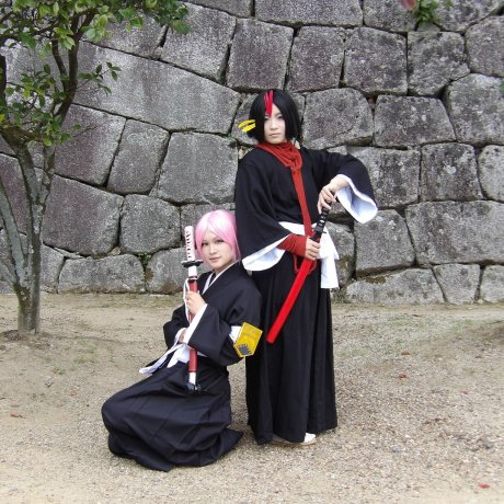 Cosplay at Matsuyama Castle
