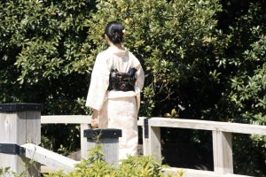 Magnifique kimono.