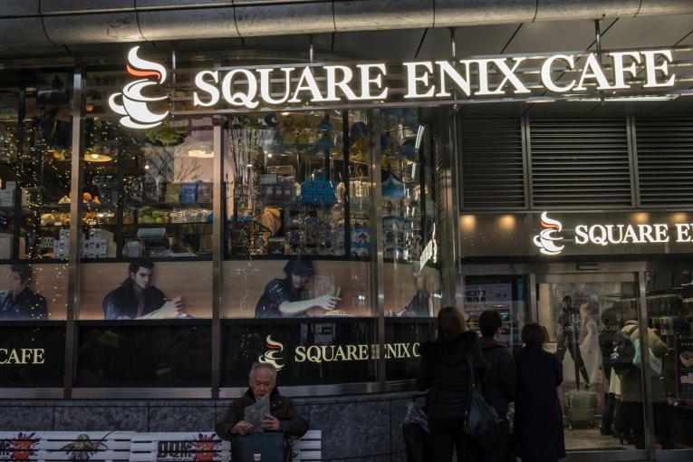 Square Enix Cafe in Akihabara