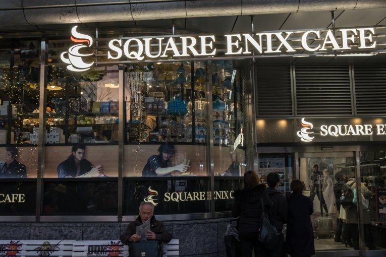 Square Enix Café em Akihabara